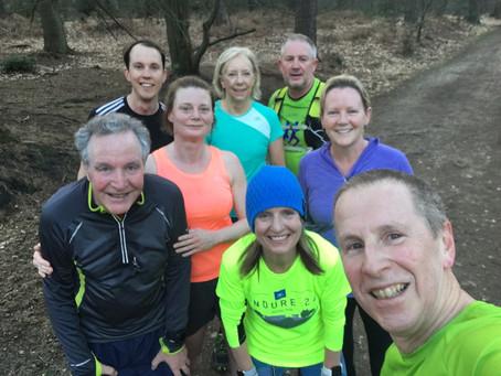 Swinley Forest Friday Evening Run
