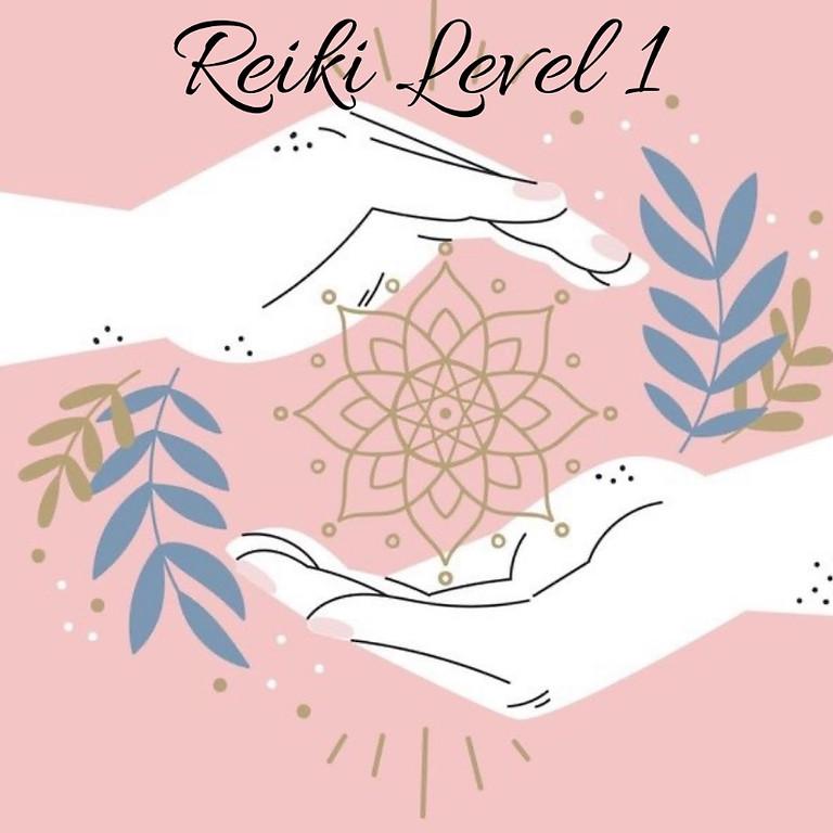 Reiki Level 1 Attunement & Certification $175