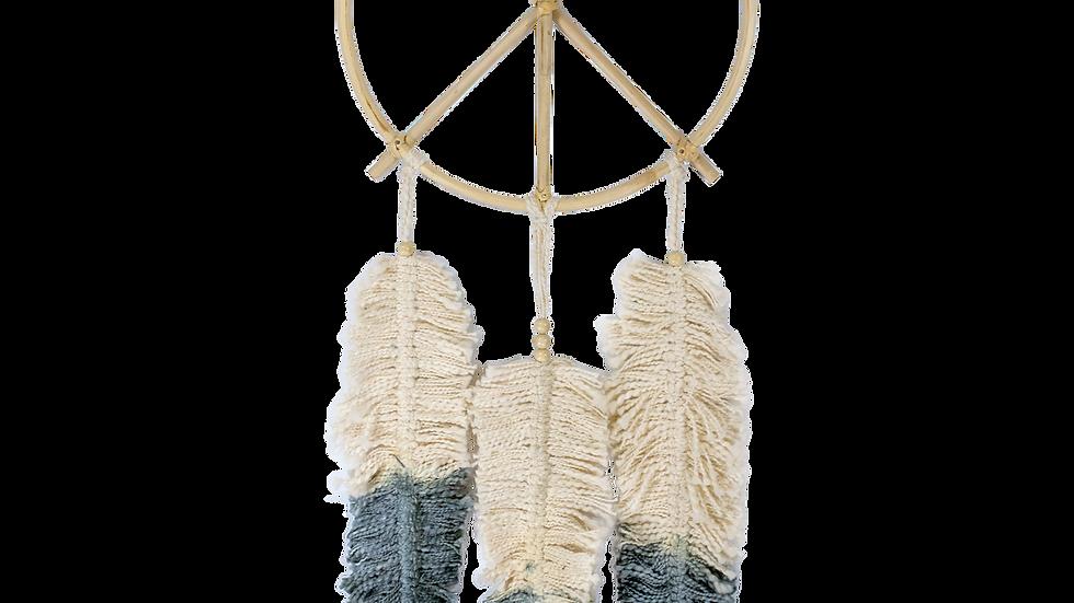 Peace Feather Dream Catcher