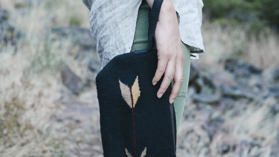 Wool Paco Wristlet