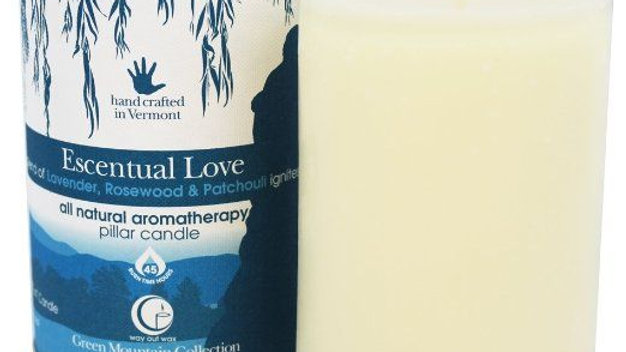 Essential Love Pillar Candle