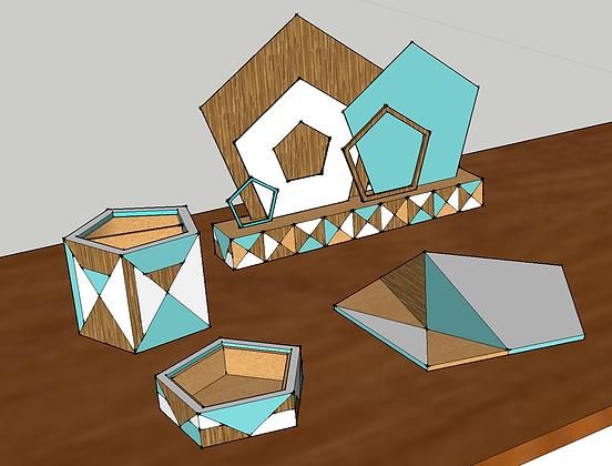SketchUp Desk Set