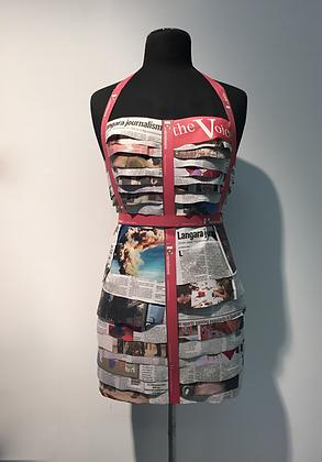 Langara College - Journalism 50th Anniversary Paper Dress