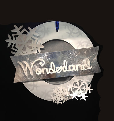 Wonderland Wreath