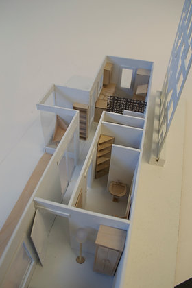 Scale Model Shipping Container