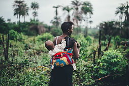 Working Mother in Field