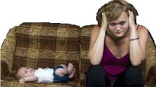 Профилактика невротических состояний у мам и младенцев