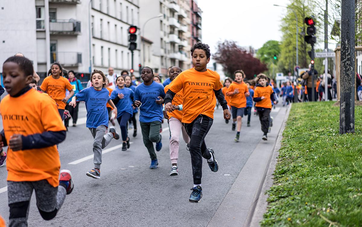 Vivicittà 2017 Saint-Ouen FSGT 93