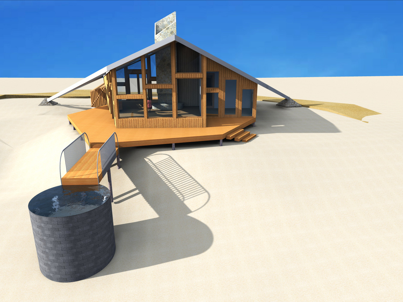 The Eagles Landing Beach-House [under construction]