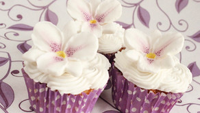 PURPLE ORCHID CUPCAKE