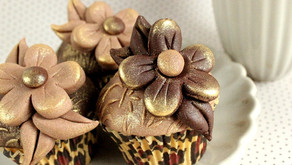 LEOPARD CUPCAKES