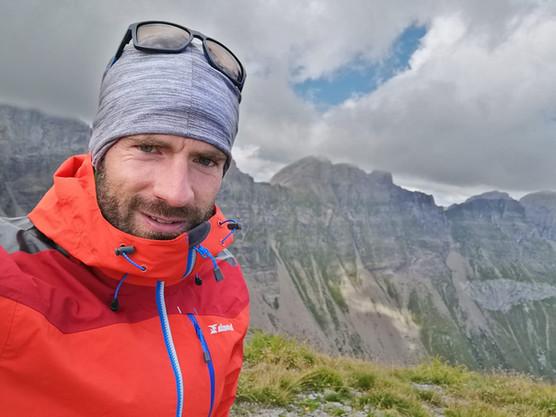 Mathieu notre accompagnateur en montagne
