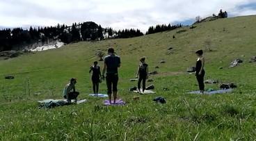Rando Yoga - Pointe de Miribel (74)