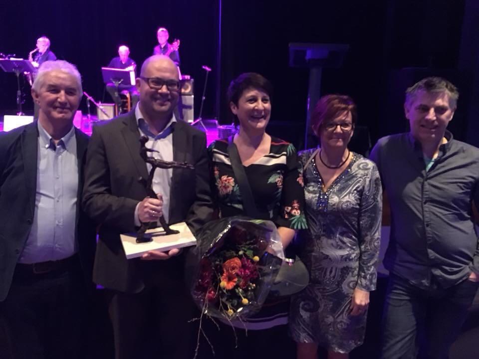 Kevin Houben wint de Cultuurprijs