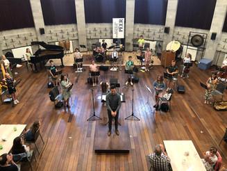 Aperitieven met het Peerse mini-jeugdorkest