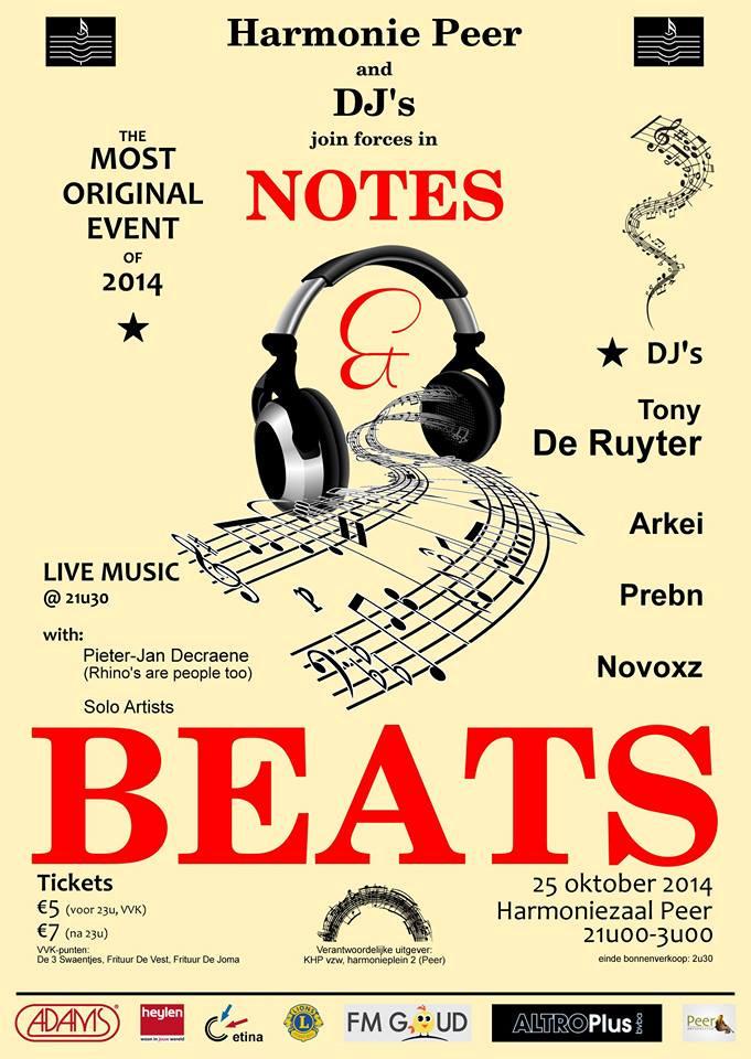 Affiche Notes & Beats I