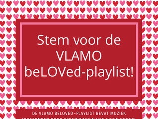 Stem voor de beLOVed-playlist van Vlamo!