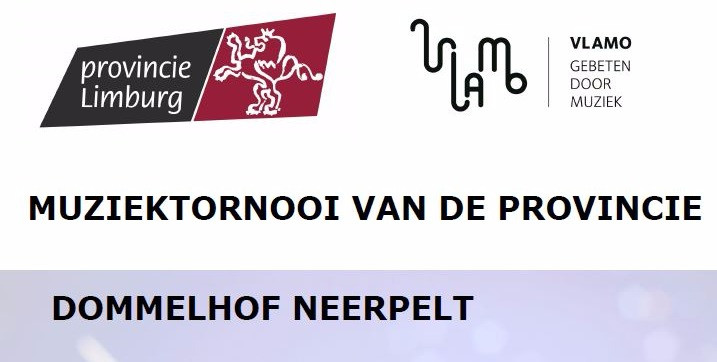 Provinciale wedstrijd Vlamo Limburg 16 oktober 2016 affiche