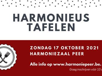 Harmonieus Tafelen 2021