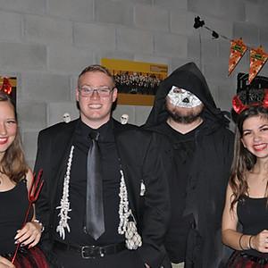 JO Repetitienamiddag en Halloween