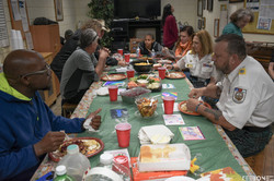 Thanksgiving served by S.A.M.S.