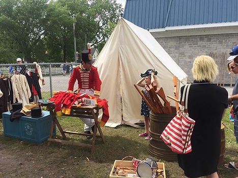 Historical reenactors from 2017 Tall Ships Bath, Ontario