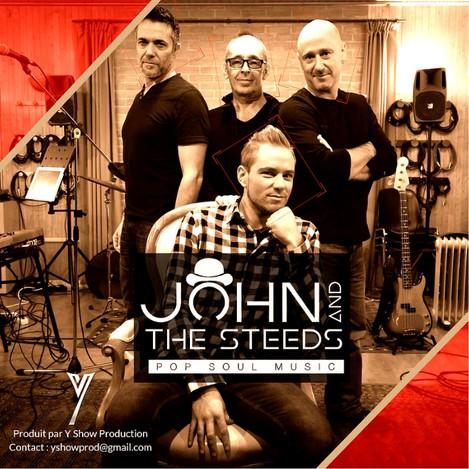 Concert John & the Steeds Musiciens Chanteur