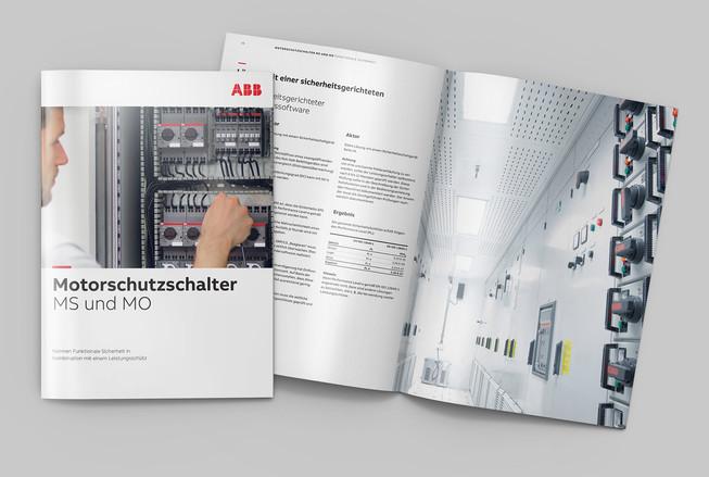 Broschüre Motorschutzschalter ABB Stotz Kontakt