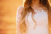 close-up-photo-upper-part-white-wedding-