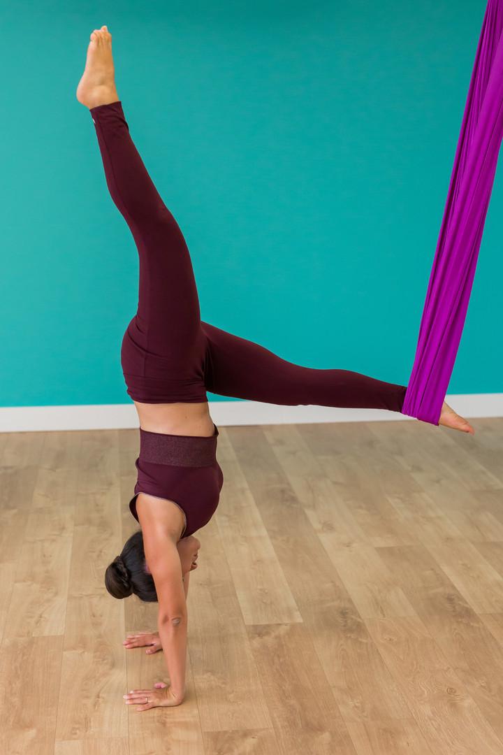 Yoga suspendu ou Fly Yoga