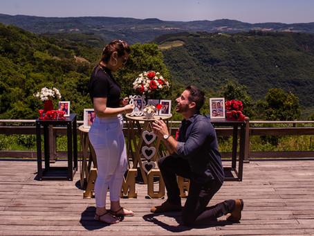 O Pedido de Casamento na Serra Gaúcha