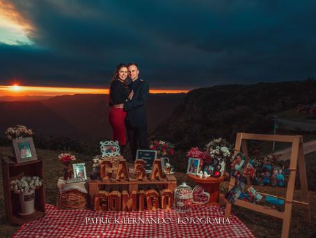 Picnic com Pedido de Casamento em Gramado