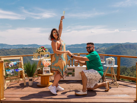 Pedido de Casamento Surpresa na Serra Gaúcha - Gabriel e Joany