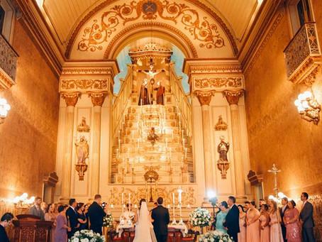 Casamento na Igreja das Dores em Porto Alegre - Bárbara e Guilherme