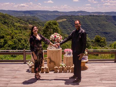 Surpresa romântica em Gramado