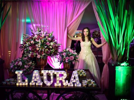 15 anos da Laura