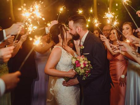 Juliani e Everton - Casamento ao ar livre em Gravataí