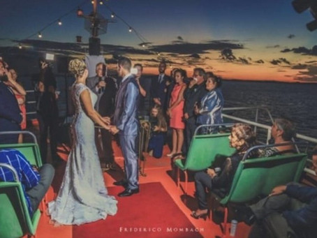 Casamento Sílvia e Cássio - Barco Noivas do Caí