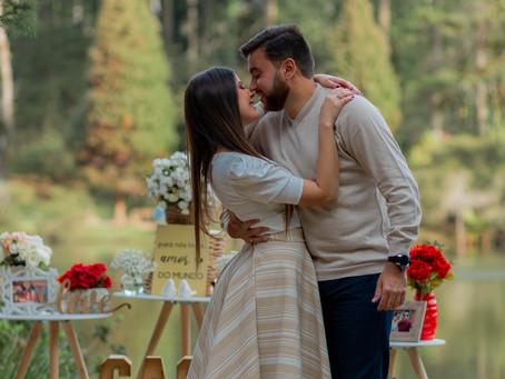 Pedido de Casamento no Lago Negro em Gramado RS