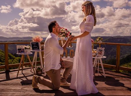 Pedido de Casamento dos Sonhos - Vista incrível