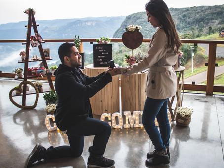 Pedido de Casamento em Gramado - Lucas e Mayara
