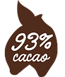 93 procent cacao Magic Chocolates