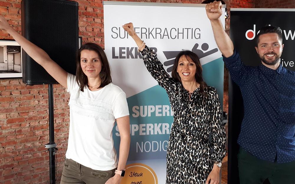 Magic chocolade steunt het goede doel SuperKrachtig Lekker. Die organisatie werkt rond een evenwichtige eetbeleving voor kinderen die vechten tegen kanker en daarvoor samen werkt met het UZ Gent.