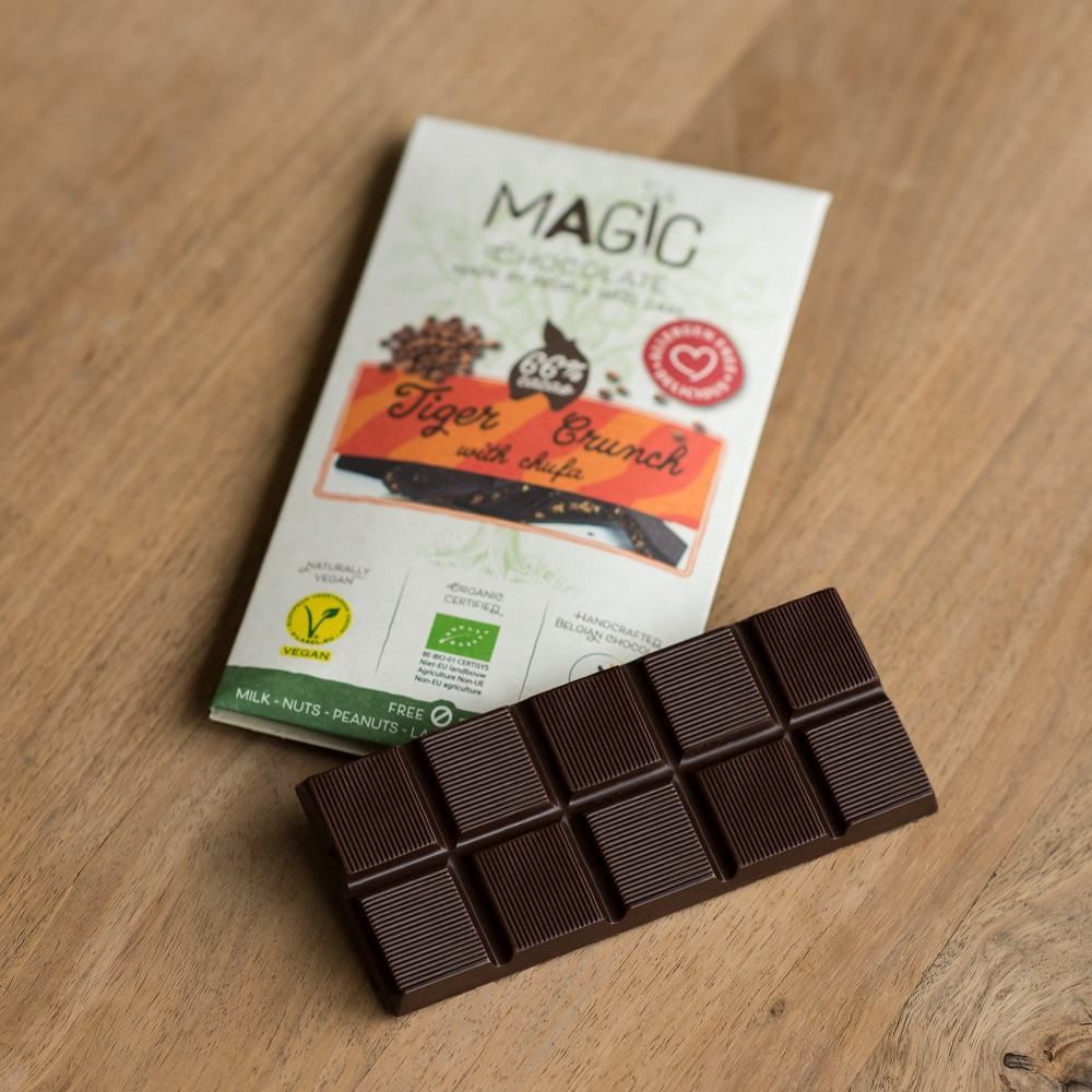 66% Tiger Crunch - Magic Chocolates