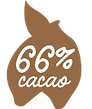 66 procent cacao Magic Chocolates