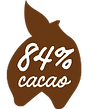 84 procent cacao Magic Chocolates