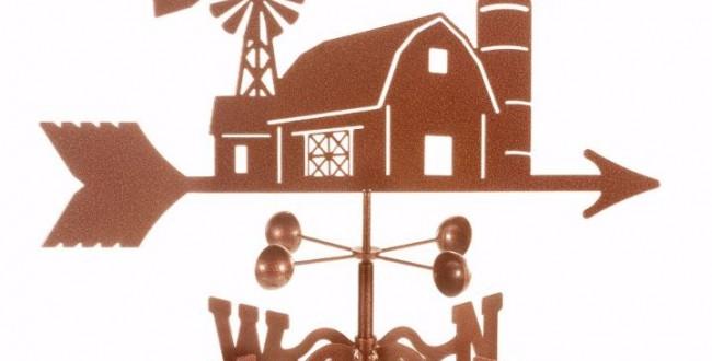 Farm Scene Weathervane
