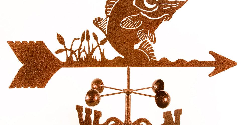 Bass Weathervane