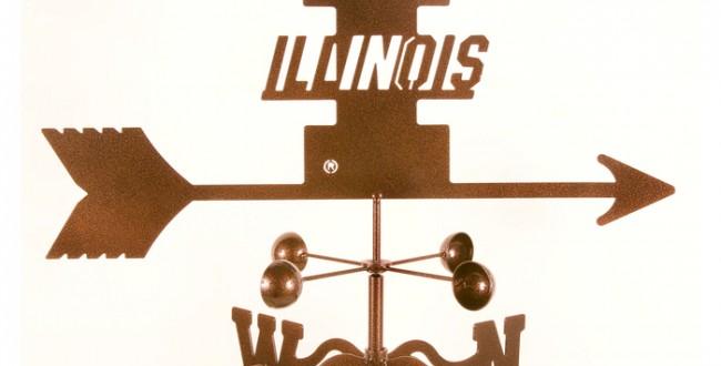 University of Illinois Weathervane