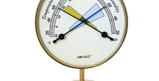 Vermont Comfortmeter (Living Finish Brass)